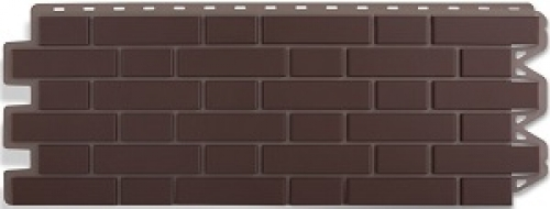 Фасадная панель Кирпич Клинкерный (коричневый)