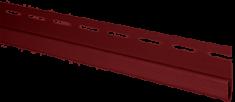 """Сайдинг Планка """"финишная"""", 3660 мм, цвет Красный"""