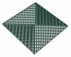 Решетка с дополнительным обрамлением 400х400х18 (зеленый)