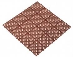 Универсальная решетка 333х333х10,5 (коричневый)