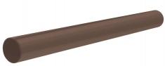 Труба водосточная  ПВХ, цвет Коричневый